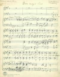 Instrumental music and Yiddish songs, manuscript 139