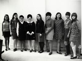 Group of students posing