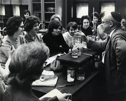 Professor of Chemistry Moses Isaacs teaching class