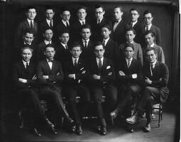 Graduates of the Talmudical Academy, 1924