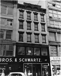 47 E. Broadway - site of Yeshivat Etz Chaim, 1887