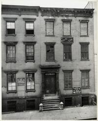 156 Henry Street building, the first building owned by the Rabbi Isaac Elchanan Theological Seminary and its location from 1904-1915.