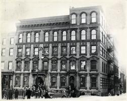 301 E. Broadway building - site of Rabbi Isaac Elchanan Theological Seminary, 1921-1929