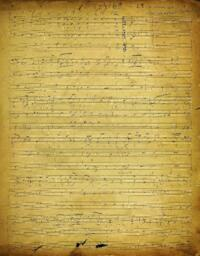Choral Compositions, manuscript 70