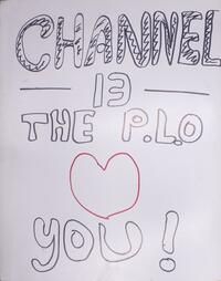 Channel 13-PBS - the PLO loves you!