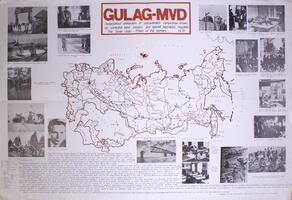 Gulag-MVD: Geographical distribution of concentration camps and special psychiatric hospitals