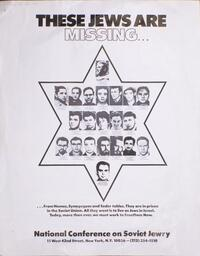 These Jews are missing