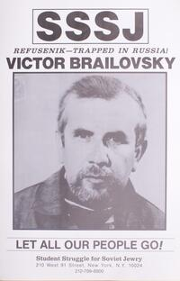 Refusenik - trapped in Russia! Victor Brailovsky