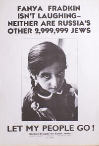 Fanya Fradkin isn't laughing. Neither are Russia's other 2,999,999 Jews.