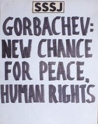 Gorbachev: New chance for peace, human rights