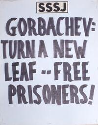 Gorbachev: Turn a new leaf - free prisoners!