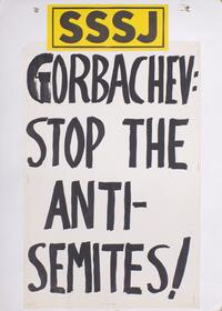 Gorbachev: stop the anti-Semites
