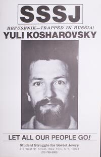 Refusenik - trapped in Russia! Yuli Kosharovsky
