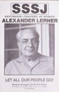 Refusenik - trapped in Russia! Alexander Lerner