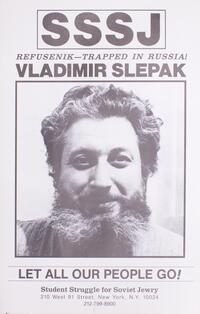 Refusenik - trapped in Russia! Vladimir Slepak
