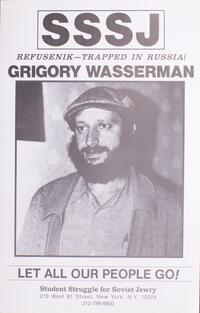 Refusenik - trapped in Russia! Grigory Wasserman