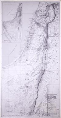 Map of Israel (Russian language)