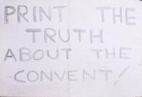 Print the truth about the convent