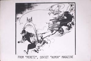 "From ""Peretz"", Soviet ""humor"" magazine"