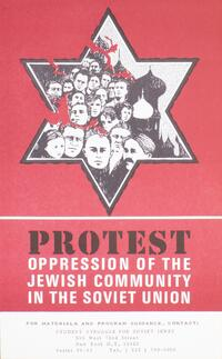 Protest oppression of the Jewish community in the Soviet Union