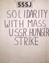 Solidarity with mass USSR hunger strike