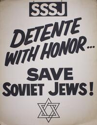 Détente with honor - save Soviet Jews!